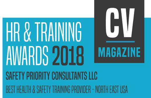 Best Health & Safety Training Provider 2018 - NE USA